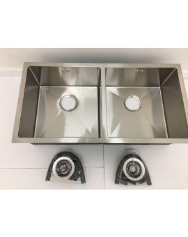 Undermount double bowl sink 8644D