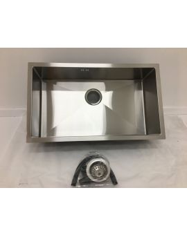 Undermount single bowl sink 7544S