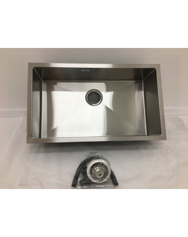 Undermount single bowl sink 7544S