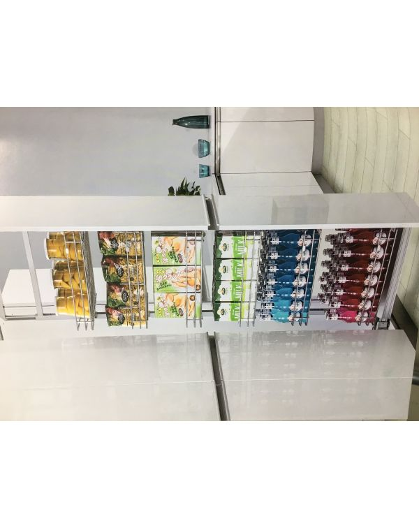 300mm Pull out soft closing larder unit with 6 baskets