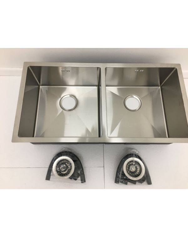 Undermount double bowl sink 8644D